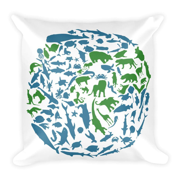 Default Title Animal Planet Square Pillow