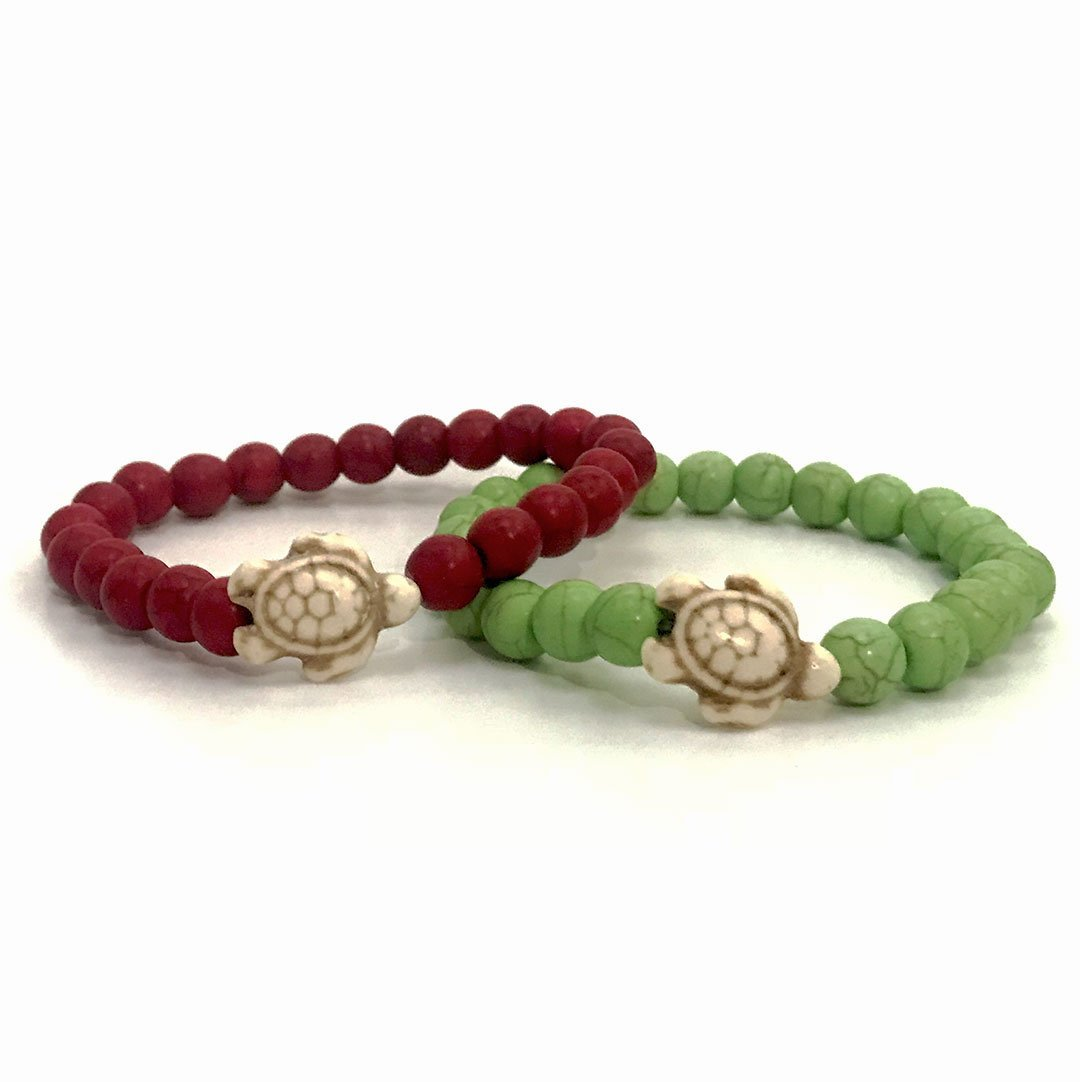 Holiday Stone Bead Set