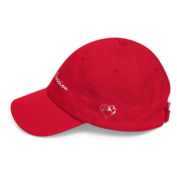 Red Live with Passion Cap