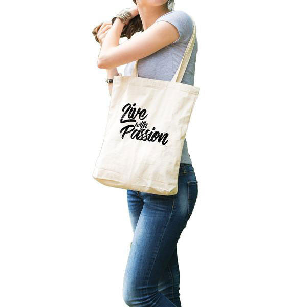 Live with Passion Tote