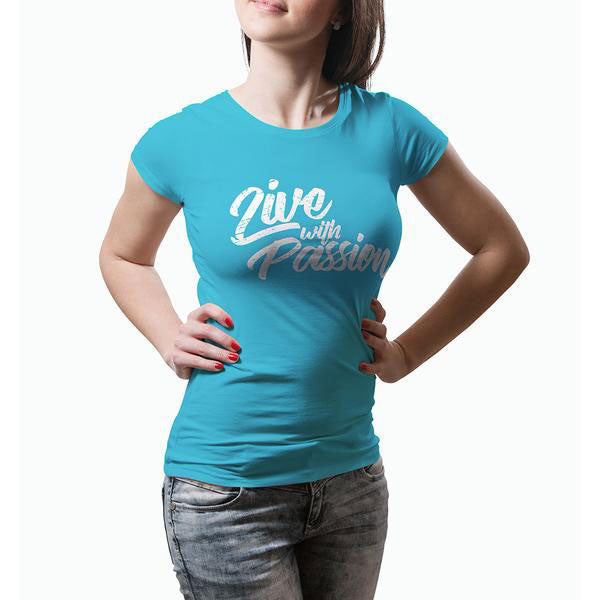 Live with Passion Womens Tee