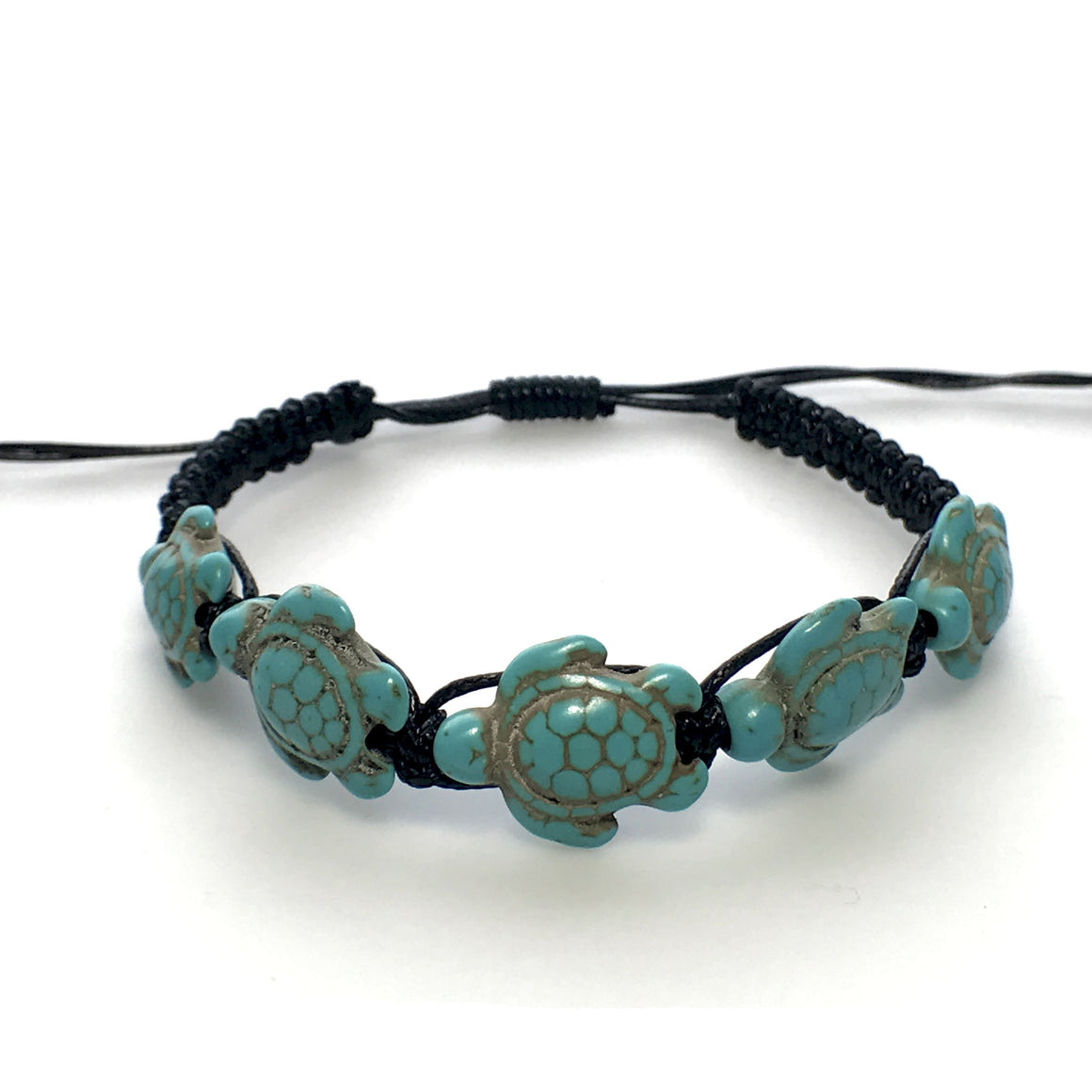 Turquoise and Black Sea Turtle Shamballas