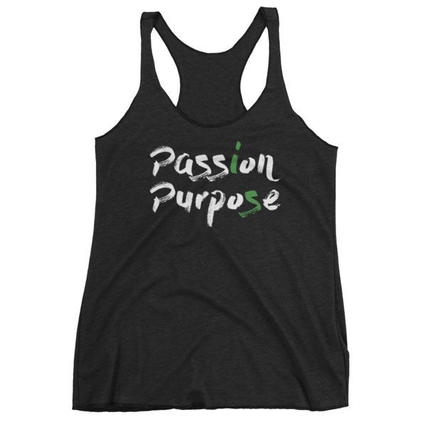 Indigo / XS Passion is Purpose Women's Tank