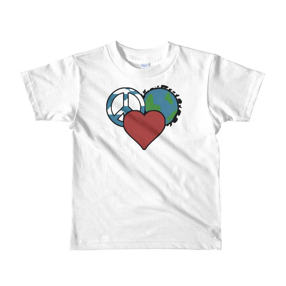 White / 2yrs Short sleeve kids t-shirt
