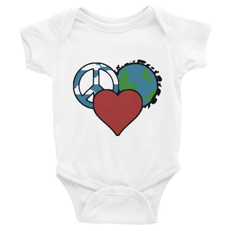 White / 6M Infant Bodysuit