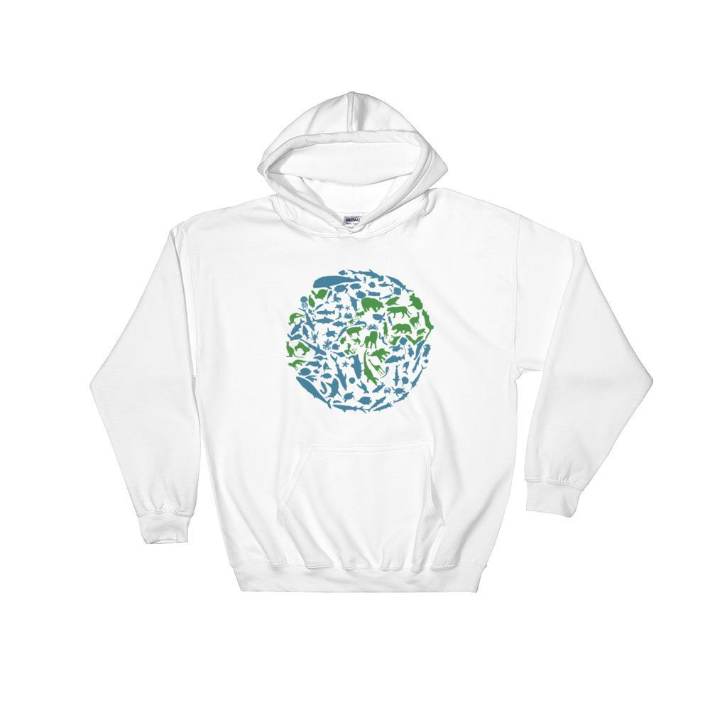 Navy / S Animal Planet Hooded Sweatshirt