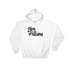 White / S Live with Passion Hooded Sweatshirt