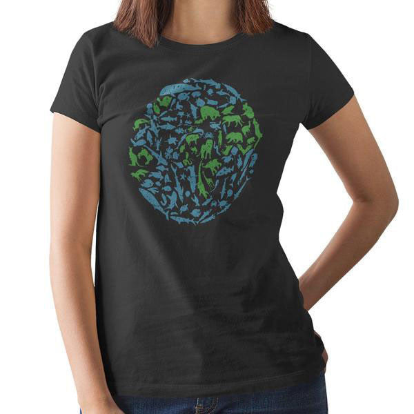 Womens One Planet Tee