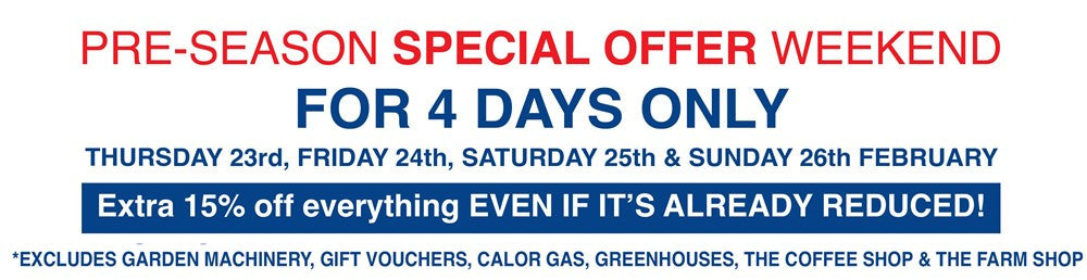 Pre-Season Special Offer Weekend