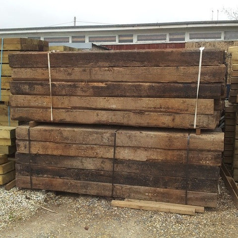 Railway Sleeper (Used) - LOCAL DELIVERY ONLY