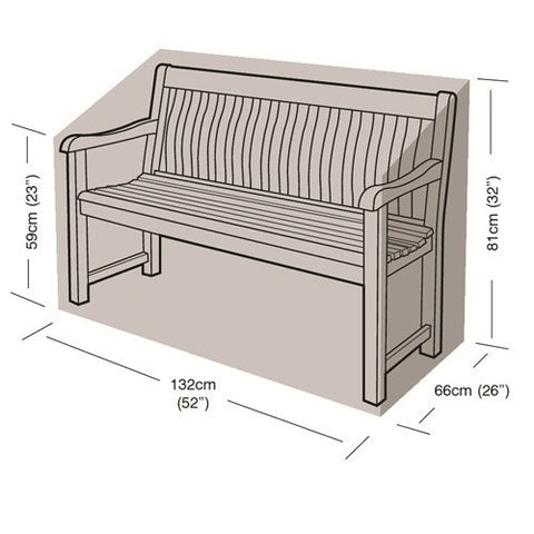 Worth 2 Seater Bench Cover W1488