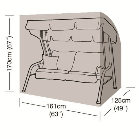 Worth 2 Seater Swing Seat Cover W1428