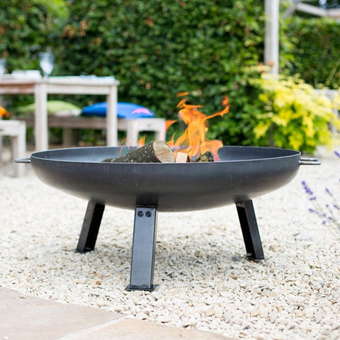 La Hacienda Pittsburgh Industrial Style Firepit Medium