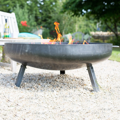 La Hacienda Pittsburgh Industrial Style Firepit Large