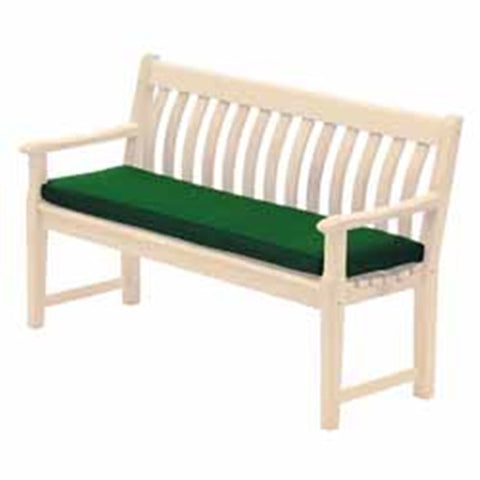 Alexander Rose Premium Acrylic 4ft Bench Cushion in Green 566G