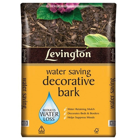 Levington Water Saving Decorative Bark (60 Litres) - LOCAL DELIVERY ONLY