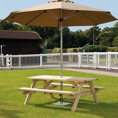 Alexander Rose Woburn Pine 5ft Picnic Table