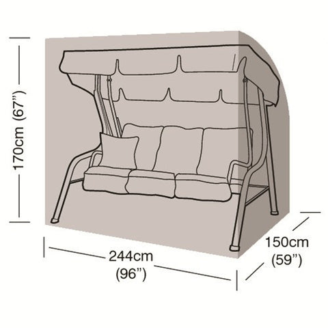 Worth 3-4 Seater Swing Seat Cover W1436