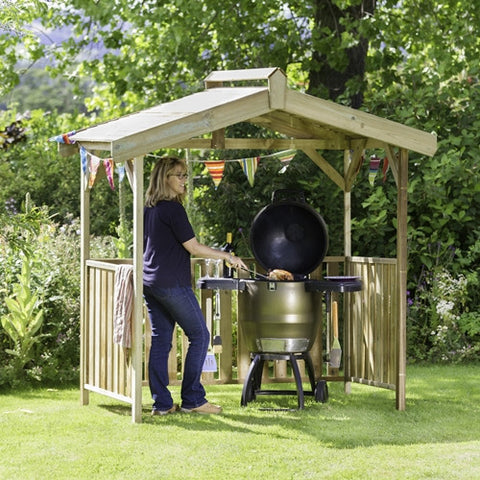 Zest The Ashton BBQ Shelter - LOCAL DELIVERY ONLY