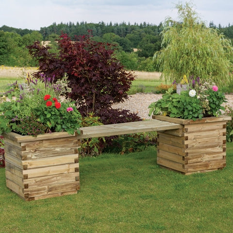 Zest Isabel Planter Bench - LOCAL DELIVERY ONLY