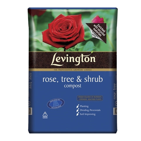 Levington Rose, Tree & Shrub Compost 50L - LOCAL DELIVERY ONLY