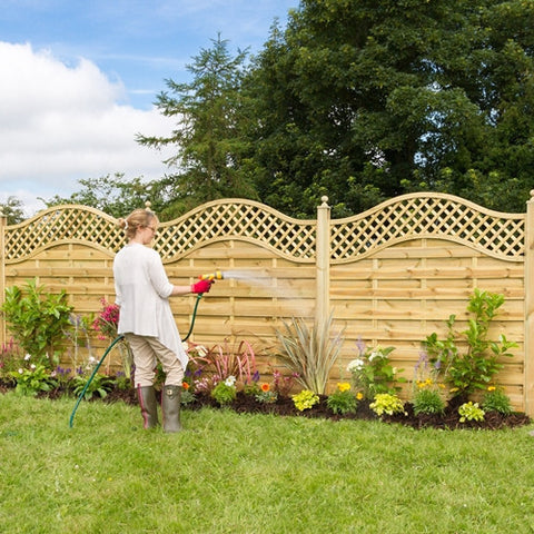 Zest San Remo Omega Panel with Trellis - LOCAL DELIVERY ONLY