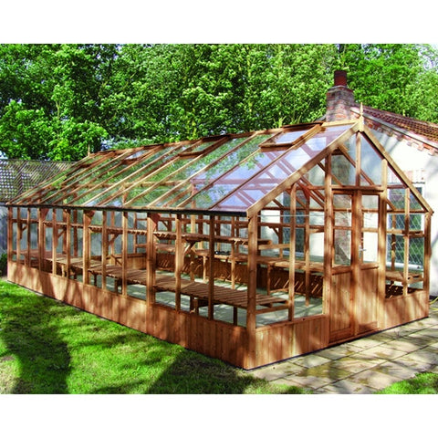 Swallow Falcon Thermowood Greenhouse