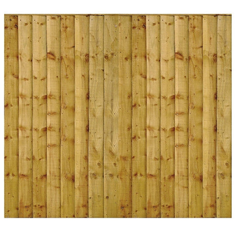 Heavy Duty Closeboard Fence Panel 6x6 - LOCAL DELIVERY ONLY
