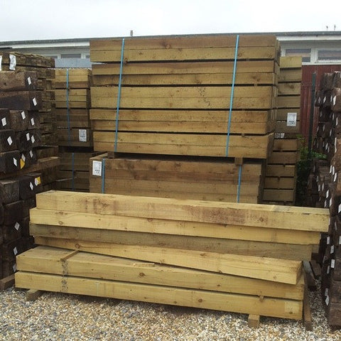 Railway Sleeper (New) - LOCAL DELIVERY ONLY