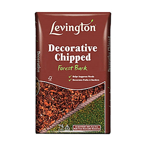 Levington Decorative Chipped Forest Bark 100L - LOCAL DELIVERY ONLY