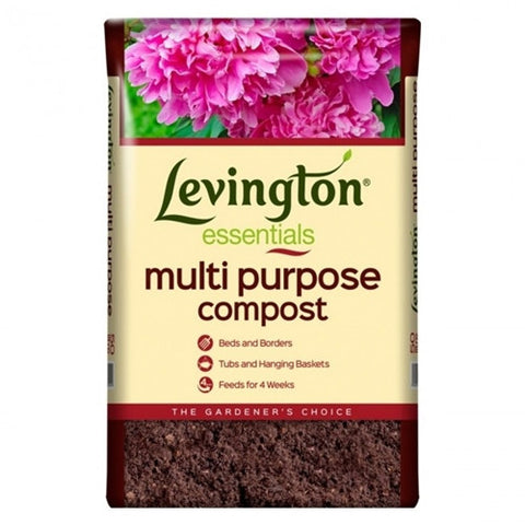 Levington Essentials Multi Purpose Compost 50L - LOCAL DELIVERY ONLY