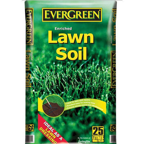 Evergreen Lawn Soil 25L - LOCAL DELIVERY ONLY