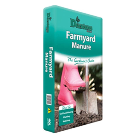Durstan Farm Yard Manure 40L - LOCAL DELIVERY ONLY