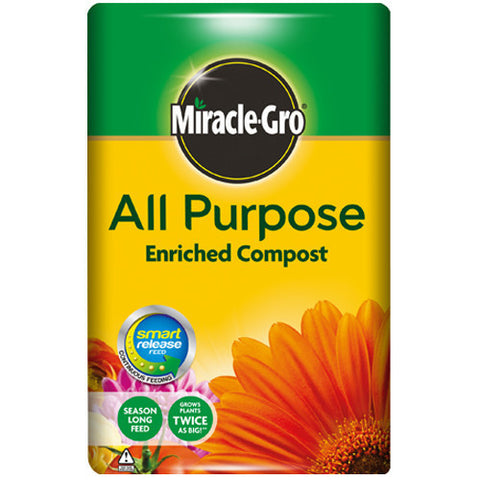 Miracle-Gro All Purpose 50L Compost - LOCAL DELIVERY ONLY