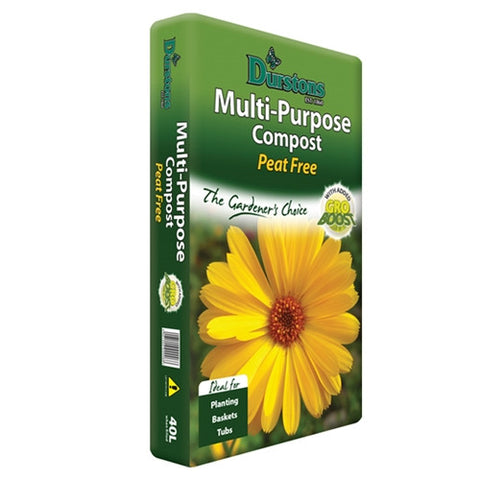 Durstan Peat Free Multi Purpose Compost 40L - LOCAL DELIVERY ONLY