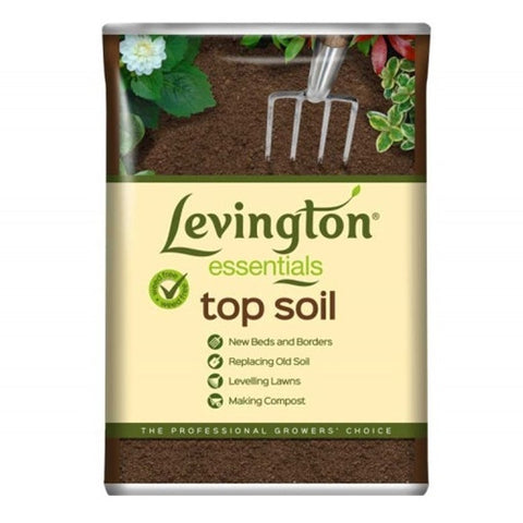 Levington Essentials Top Soil 35L - LOCAL DELIVERY ONLY