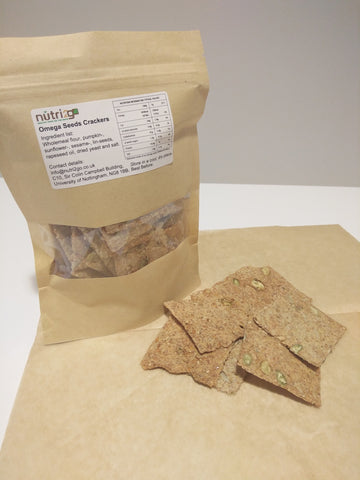 Mixed Omega Seeds Crackers