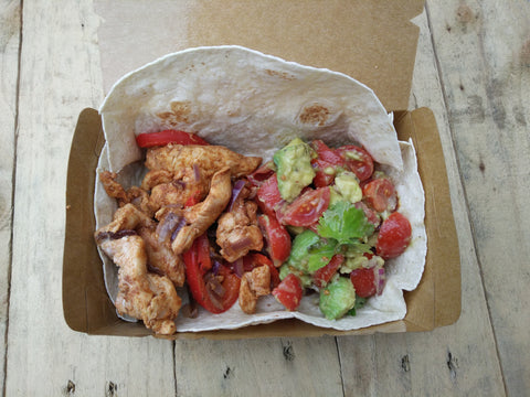 MONDAY (14/08/2017) - Chicken Fajita with Guacamole