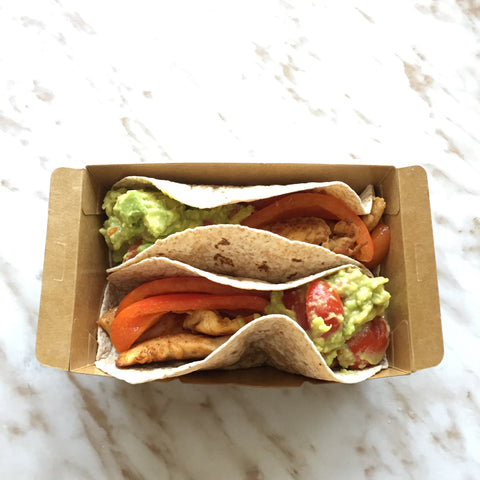 Available all weekdays (MON - FRI) - Chicken Fajita with Guacamole