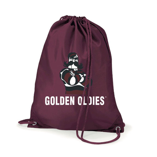 Drawstring Bag - Burgundy