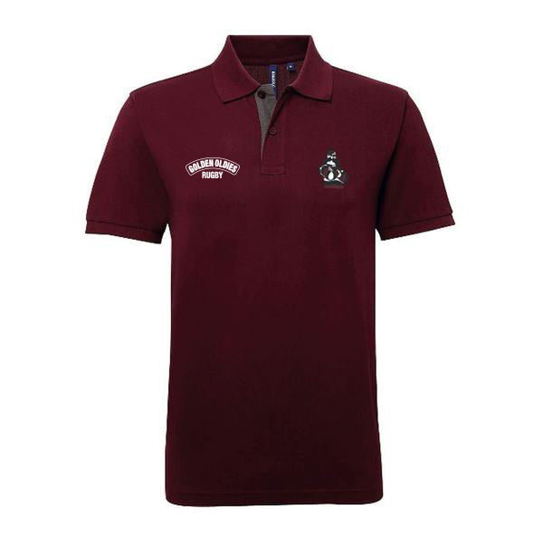 Classic Polo Shirt - Burgundy