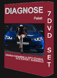 BMW Diagnostic Software Electronic Delivery 7 DVD English & German - BMW Diagnose Software INPA Download