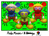 ANDY MOUSE par Keith Haring