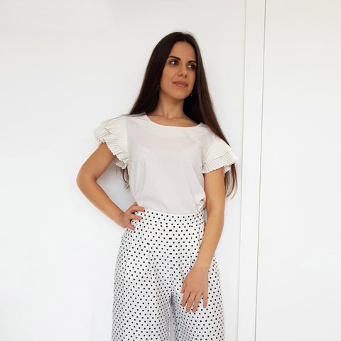 White Mariana Top