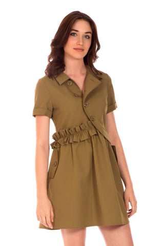 Green Army Dress