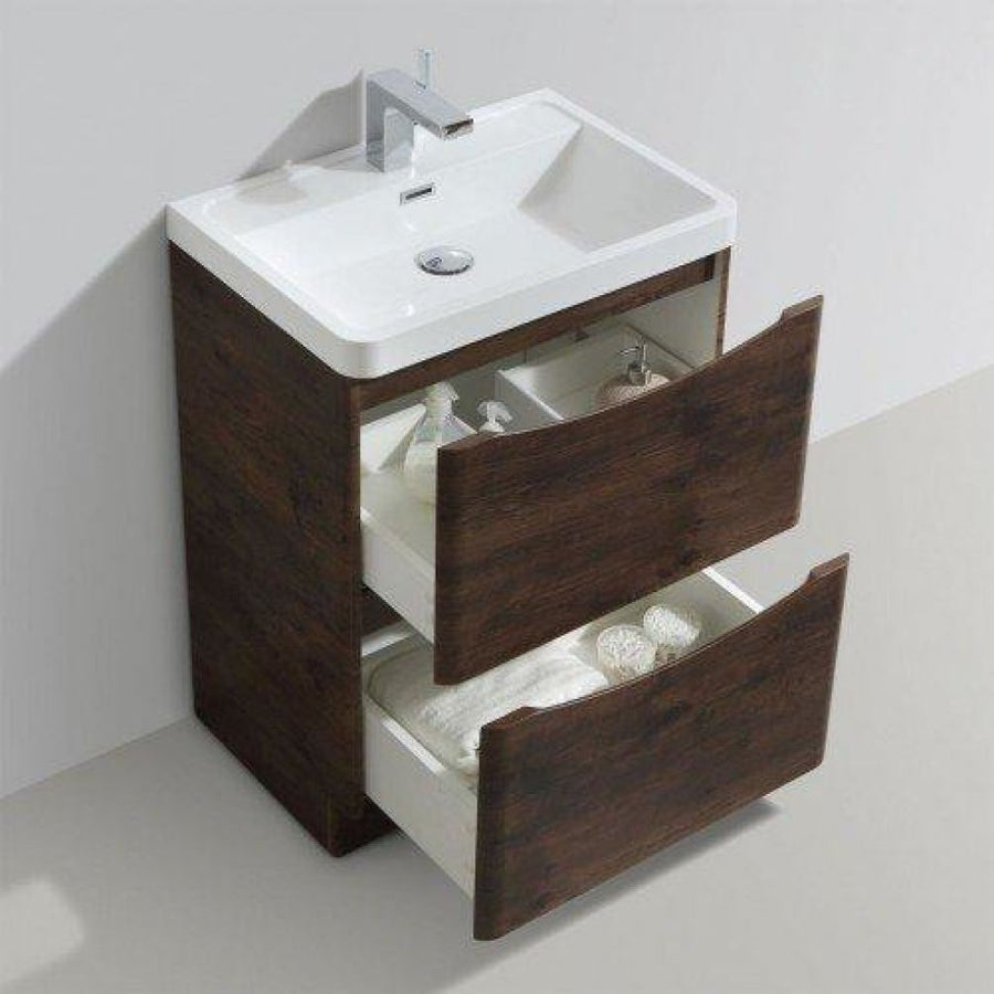 Bail -  Free Standing Cabinet with Basin - EverythingBathroom.co.uk