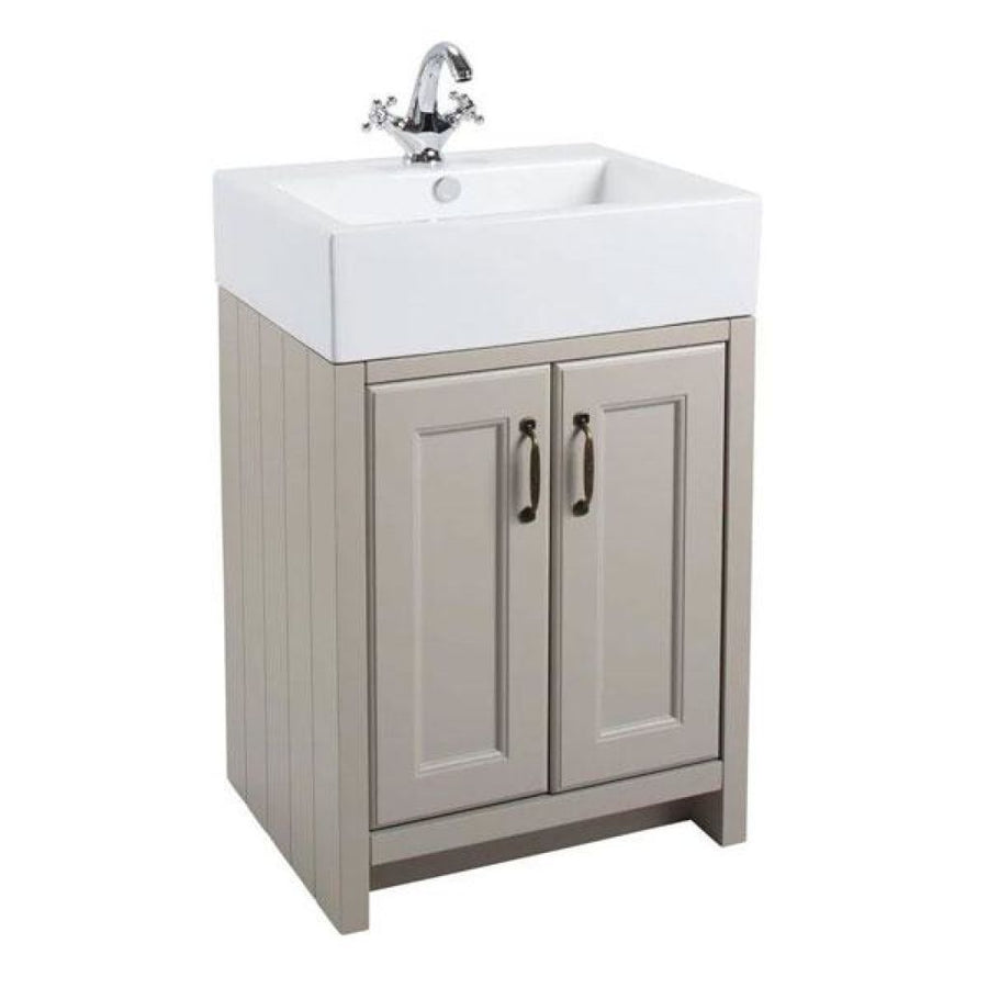 Cassellie Chartwell - 2 Door Basin Vanity Cabinet with Ceramic Basin