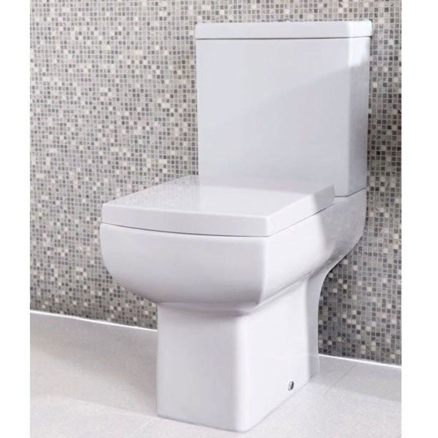 Cassellie Daisy Lou - Close Coupled Pan and Cistern inc Soft Close Seat