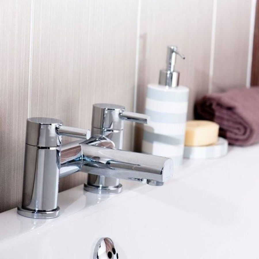 Cassellie Dalton Bath Filler Tap - Chrome