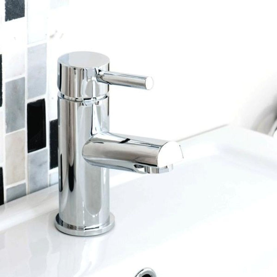 Cassellie Dalton Mono Basin Mixer Tap with Click Clack Waste - Chrome
